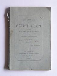 Le songe de Saint Jean. Légende du sacré-Coeur de Jésus