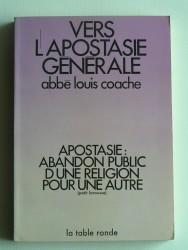 Vers l'apostasie générale