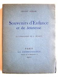 Ernest Renan - Souvenirs d'Enfance et de Jeunesse