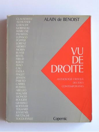 Alain de Benoist - Vu de Droite
