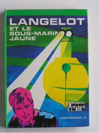 Lieutenant X (Vladimir Volkoff) - Langelot et le sous-marin jaune