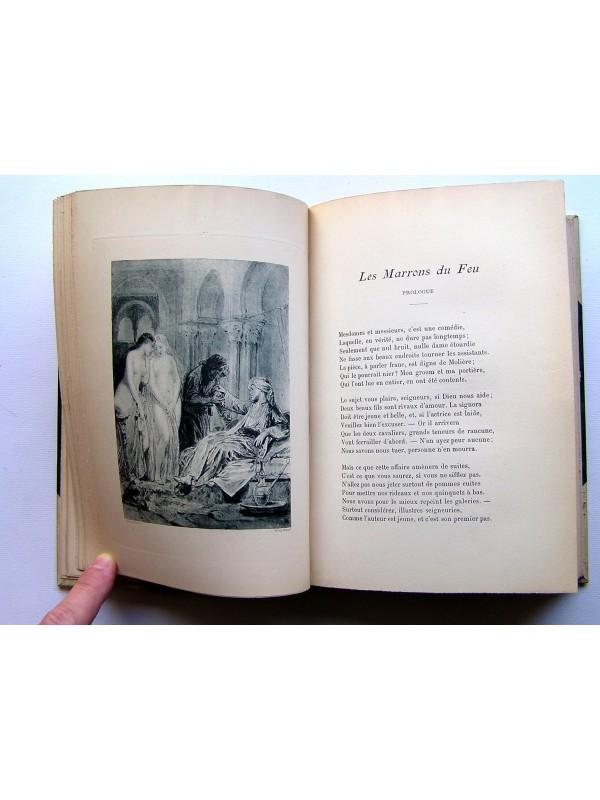 Alfred de Musset - Premières poésies. Poésies nouvelles. Oeuvres complètes.  Tome 1 2 3a732d2a3a5