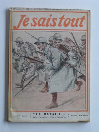 """Commandant de Civrieux - je sais tout n°122. """"La bataille"""". Celle d'autrefois, celle d'aujourd'hui"""
