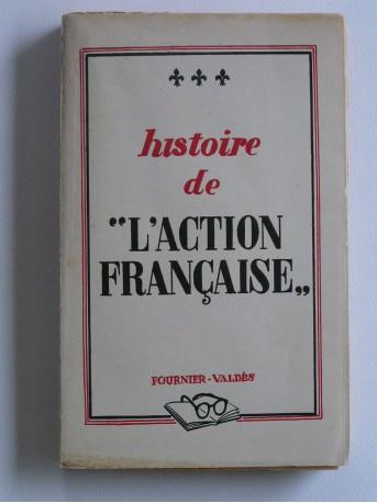 Lazare de Gerin-Richard - Histoire de l'Action française