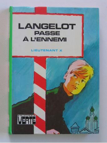Lieutenant X (Vladimir Volkoff) - Langelot passe à l'ennemi
