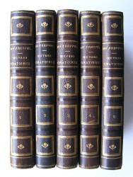Monseigneur Charles-Emile Freppel - Oeuvres pastorales et oratoires. 5 premiers tomes.