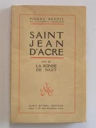 Saint Jean d'Acre. Suivi de : La ronde de nuit