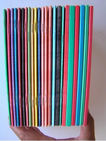 François Brigneau - Mes derniers cahiers. Complet des six séries.