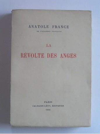 Anatole France - La révolte des anges