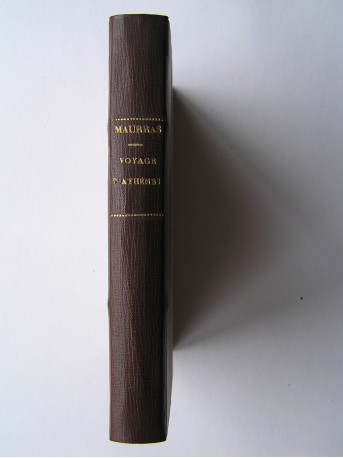 Charles Maurras - le voyage d'Athènes