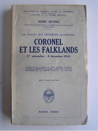 John Irving - Coronel et les Falklands. 1er novembre - 8 décembre 1914