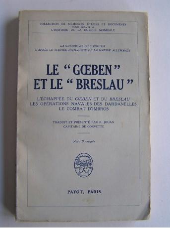 """Anonyme - Le """"Goeben"""" et le """"Breslau""""."""