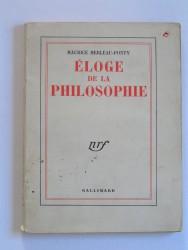 Eloge de la philosophie