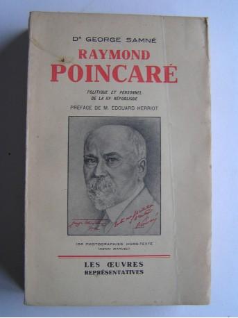 Docteur George Samné - Raymond Poincaré