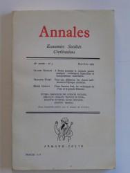 Annales. Economies. Sociétés. Civilisations. 18e année - N°3. Mai-juin 1963