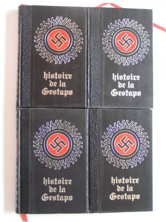 Collectif - Histoire de la Gestapo. Complet des 4 tomes