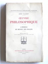 Léon Daudet - Oeuvre philosophique