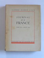 Journal de la France. Mars 1939 - Juillet 1940