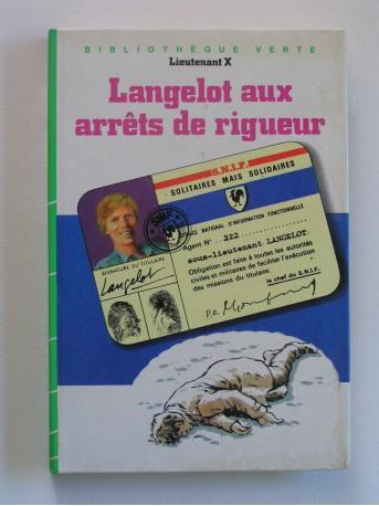 Lieutenant X (Vladimir Volkoff) - Langelot aux arrêts de rigueur