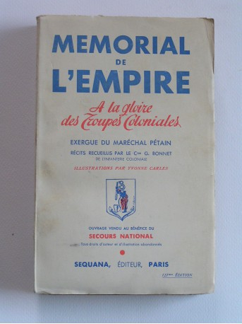 Collectif - Mémorial de l'Empire. A la gloire des troupes coloniales