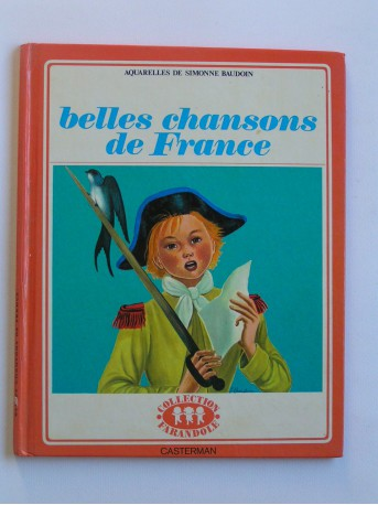 Simonne Baudoin - Belles chansons de France