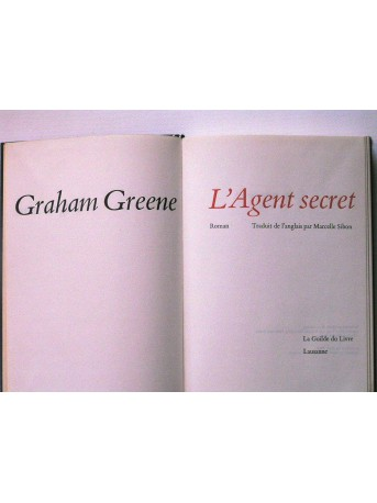 Graham Greene - L'agent secret