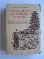 Essai sur l'esprit du Berbère marocain