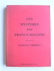 Les mystères des Francs-Maçons