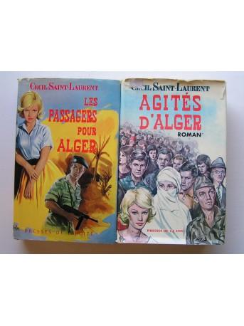 Cécil Saint-Laurent - Les passagers pour Alger. Agités d'Alger