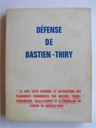 Défense de Bastien-Thiry