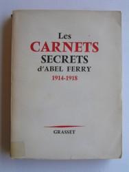 Les carnets secrets d'Abel Ferry. 1914 - 1918