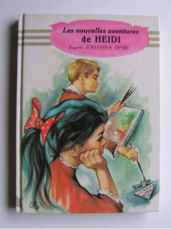Johanna Spyri - Les nouvelles aventures de Heidi