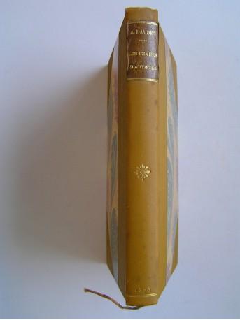 Alphonse Daudet - Les femmes d'artistes