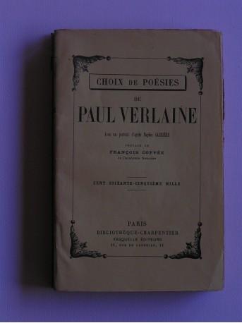 Paul Verlaine - Choix de poésies