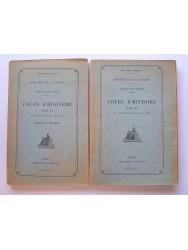 Anonyme - Ecoles militaires. Cours d'Histoire. Tome II. De 1815 à 1914.