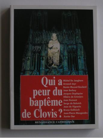 Collectif - Qui a peur du baptême de Clovis?