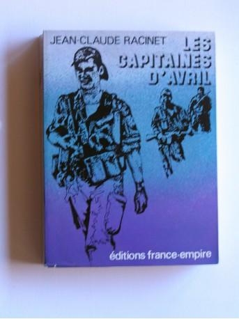 Jean-Claude Racinet - les capitaines d'avril