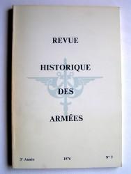 Collectif - Revue historique des armées. N°3 - 1976